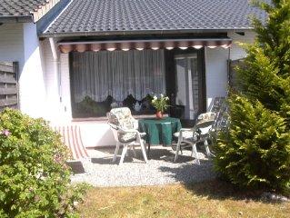 Liebevoll eingerichtetes Reihenhaus mit Terrasse und Garten