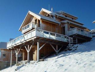 Wohlfühl Luxus Chalet über den Wolken des Lavanttal´s zum Skifahren und Wandern
