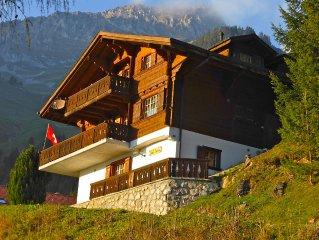 Ruhige Ferienwohnung am Rande des Almgebietes in 1100 m Hohe