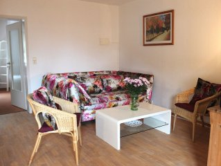 Cosy and homely apartment for max. 4 people including WLAN