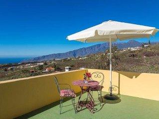 Kleines Landhaus auf der sonnigen Seite von La Palma mit Aussicht&WLAN