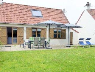 Sonniges Ferienhaus fur 6 Personen, strandnah, im Ferienpark Zeebos, WLAN gratis