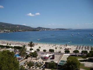 Appartement direkt am Strand mit unvergesslicher Aussicht, in Palma Nova