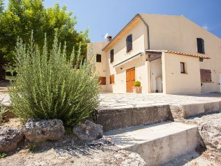 Provençalische klimatisierte Komfortvilla 'Les Olivades' mit Pool