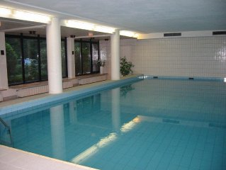 Comfortable **** apartment in the beach residence, swimming pool, 100 m to the