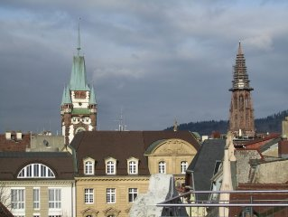 Luxurious living above the rooftops of Freiburg
