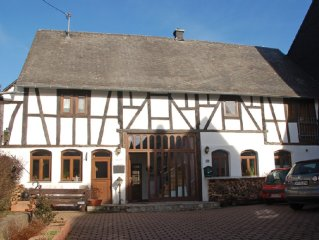 High quality holiday home for larger groups between the Mosel and the Rhine