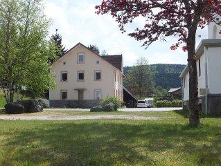 Okologisch renovierte familienfreundliche Wohnungen in altem Haus mit Charme