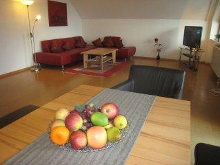 Beautiful duplex apartment in Freiburg. Incl. Internet. Dog on request.