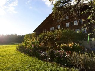 6-Zimmer-Ferienwohnung mit Blick auf die Wetterhorngruppe