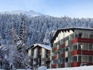 Skiing bis vor Haustur, Sackgasse, Bergbahnnahe, Kinderliftnahe, Fam.freundlich