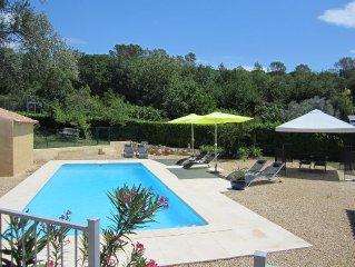 Petite Maison Clos Neuf - Provencal. Landhaus, grosser Pool, ruhig, am Weinberg