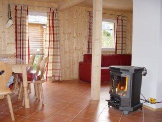 Familienfreundliches Ferienhaus neben der Piste, Alpendorf Haus 2