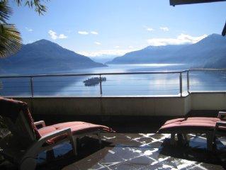 Traum-Ferienvilla,am Lago Maggiore,volle Seesicht mit 2 Parkplatzen.