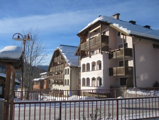 Sunny apartment within walking distance to the slopes