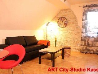 Exklusives ruhiges City-Apartment/nahe Innenstadt Kassel+DOCUMENTA/Herkulesblick