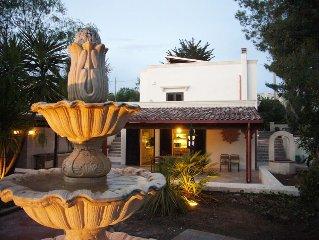Vier-Jahreszeiten-Luxus-Ferienvilla am Ionischen Meer