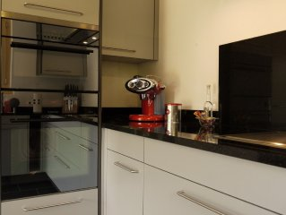 Steam - & power shower, satellite TV, wok, teppanyaki, Steamer