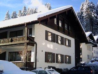 Oberstaufen-Urlaub am Waldrand / Kurpark - Oberstaufen PLUS / Skipass gratis !