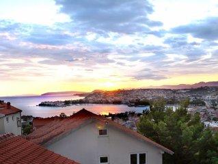 ruhig gelegene Ferienunterkunft fur 5 Personen in der Nahe von Split