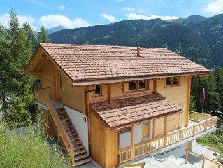 Gemutliche 3,5-Zimmer Ferienwohnung mit Sonnenterrassen und Bergpanorama