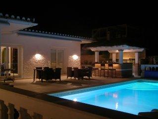 Villa mit einzigartiger Lage und Panoramaaussicht ubers Mittelmeer