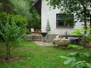 Sehr idyllisch und ruhig gelegenes Ferienhaus in der Mecklenburgischen Schweiz