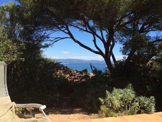 Cote d'Azur Villa mit traumhaftem Meerblick zu vermieten auf der Halbinsel Giens
