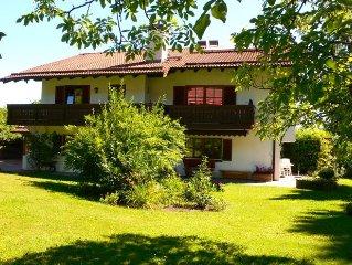 Absolut ruhige Wohnung zwischen München und den Alpen