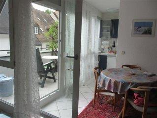 1-Zi. Appartement, 34qm, Altstadt- Fußgängerzone, sehr ruhig, taghell,Südbalkon,