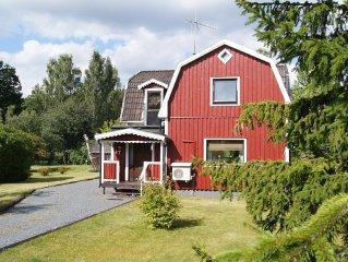 Gemütliches Ferienhaus mit 2500qm großem Garten direkt am See !!!