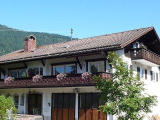 Grosszugig Wohnen nahe Garmisch-Partenkirchen unter der Zugspitze