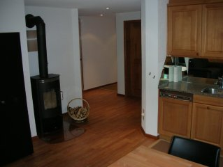 Exclusive apartment, very nice chalet, quiet and central location