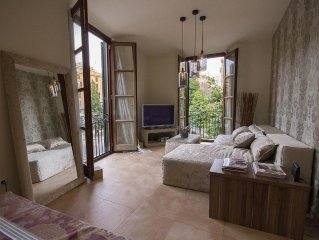 Charming apartment in the old town with great vie