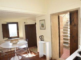 romantisches Wohnstudio mit Meerblick für 2 Personen, Dachterrasse