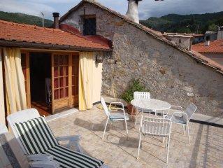 Ferienhaus  in einem antiken Dorf der Riviera, Ruhe, Romantik, Entspannung