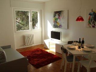 Exklusive Zweizimmerwohnung im Stadtzentrum Bozen, hochwertig eingerichtet.