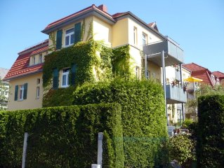 Friendly 2 room apartment with balcony in the wel