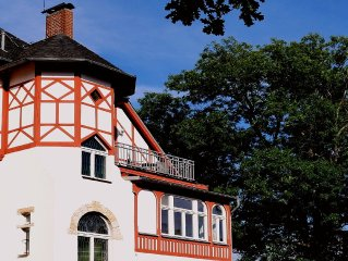 4 stars Villas apartment in central Quedlinburg with balcony, garden u. WIRELES