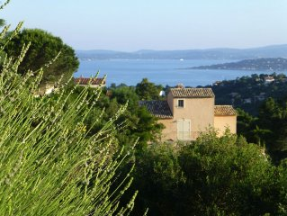 Holiday House - panoramic views over the bay of St. Tropez - Quiet Location