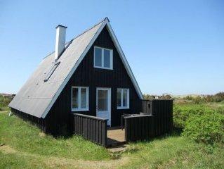 Herrliches, stimmungvolles Ferienhaus fur 1 Familie nah am breiten Nordseestrand