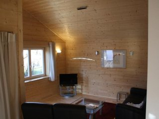 Enjoy your days in our new ecologically designed wooden house