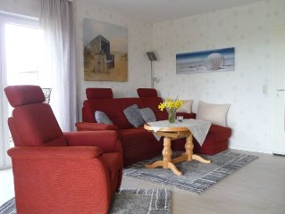 HOLIDAY from the outset:. Relaxation paradise plus 72sqm terrace on & sunbathin