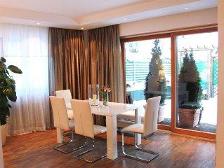 New luxury apartments under the Fussener Castle