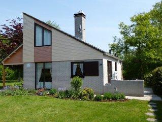 Freistehendes Haus mit grossem Garten in Strandnahe