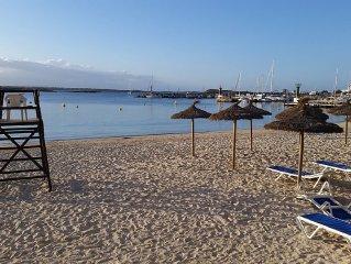 Mediterranes Casa  direkt am Strand