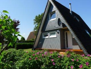 Nurdachhaus 'Murmel 1 am Deich', Kamin, Top-renoviert,W-Lan, Strandkorbnutzung