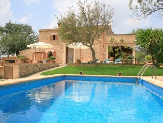 Manor with pool where you can experience the other Mallorca!