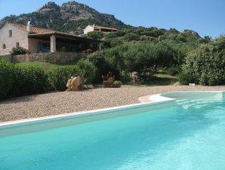 Large holiday house with pool with breathtaking panoramic views, pets welcome