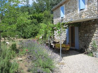 Petit Maison Broche -Traditional Stonehouse, pool, large Garden,